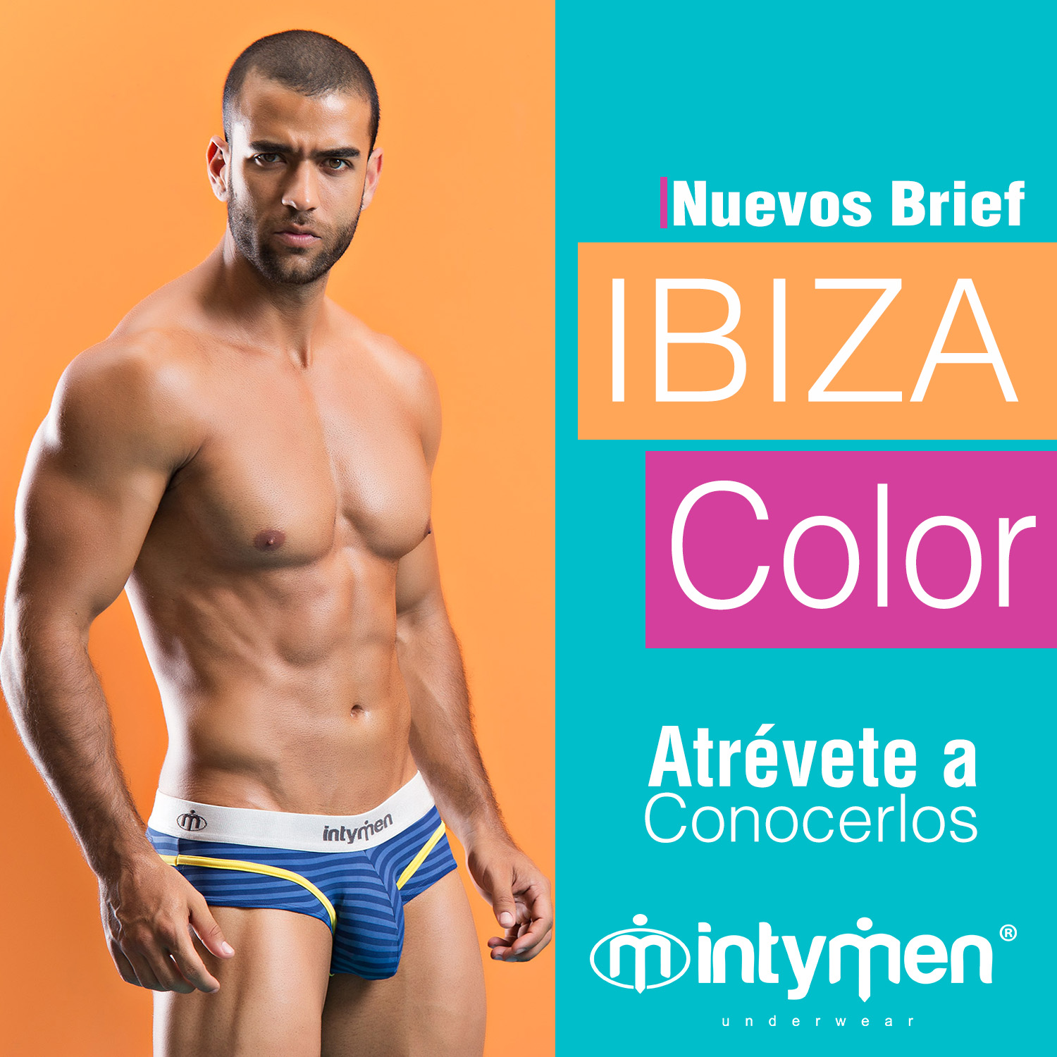 Ibiza Brief-Boxer Brief, ropa interior masculina medellin